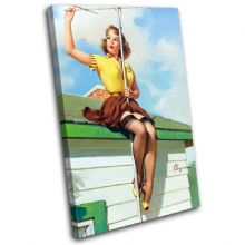 Vintage Girl Retro Pin-ups - 13-2076(00B)-SG32-PO